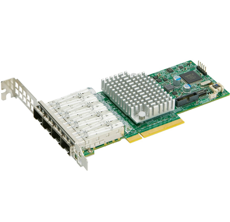 SuperMicro 4-port 10Gbe Standard LP with SFP+, Intel XL710-AM1