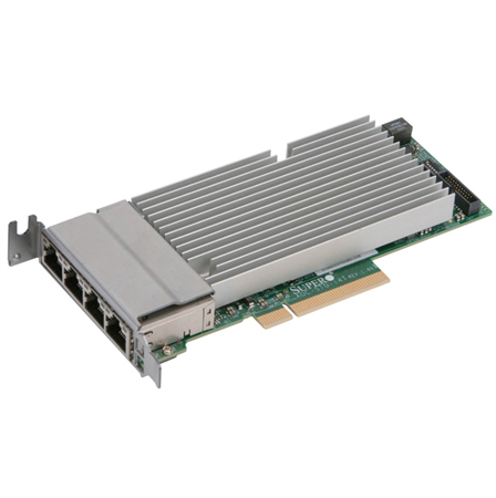 SuperMicro Standard LP 4-port 10GbaseT, Intel XL710 and X557