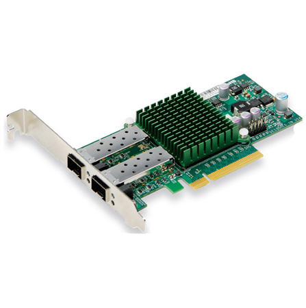 SuperMicro 2-port SFP+ 10GbE Standard LP with SFP+ connectors