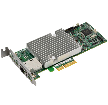 SuperMicro Standard LP 1-port 10Gbase-T, Intel X550