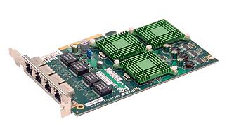 SuperMicro 4-port Gigabit UIO NIC Card